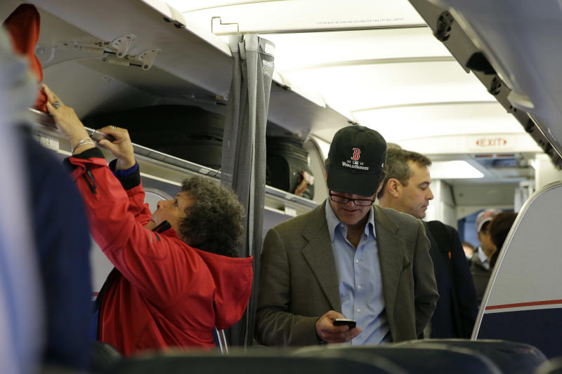 Loud cellphone talkers next bane of air travelers?