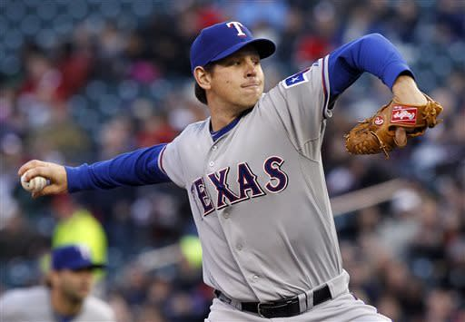 Tepesch picks up second win as Rangers beat Twins