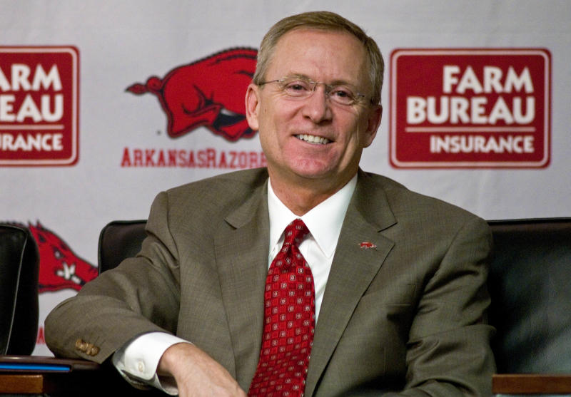 Arkansas AD Long chosen selection committee chair