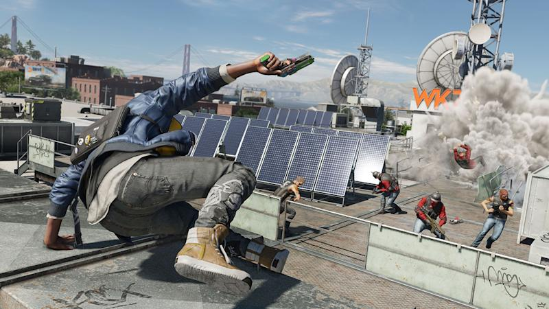 Everything gets hacked in new Watch Dogs 2 gameplay