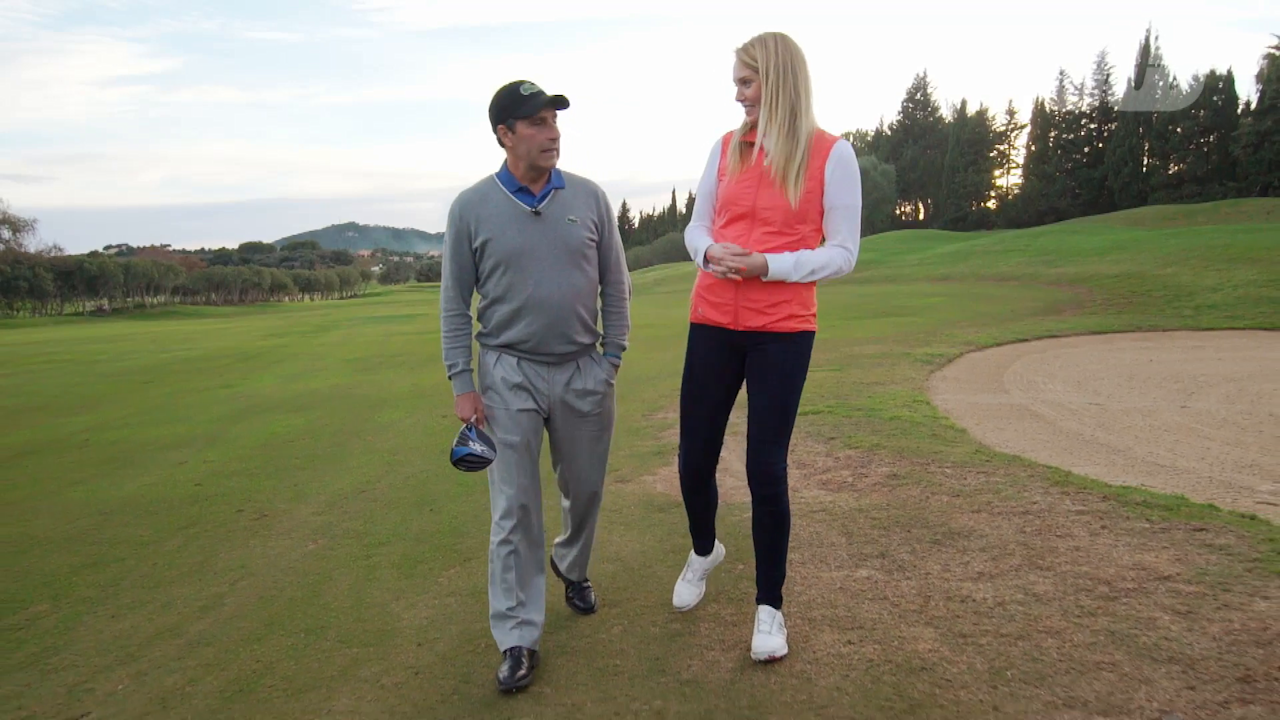 Ahead of his and Rafael Nadal's Invitational event Anna Whiteley was lucky enough to walk the course with two-time Masters winner and European golfing legend Jose Maria Olazabal