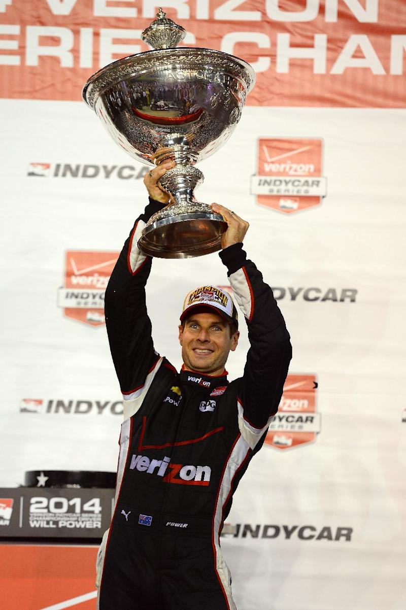 IndyCar - Power in tears as he takes first IndyCar championship