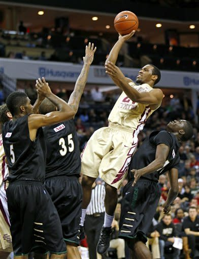 Snaer's 30 lead Florida State past Charlotte 79-76