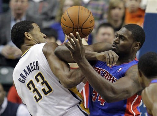 Hibbert leads Pacers past Pistons 91-79