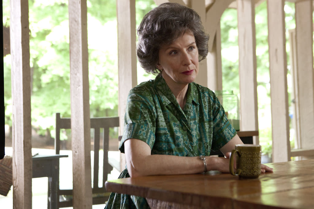 "Frances Conroy stars as Maybelle Carter in the Lifetime Original Movie, ""Ring of Fire."""