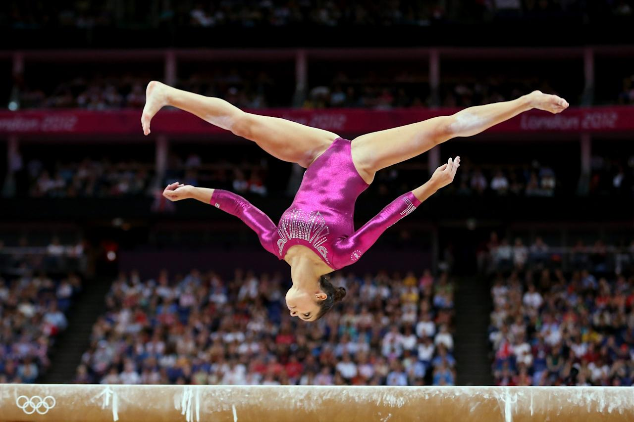 The Makings Of Greatness Aly Raisman In London Olympics