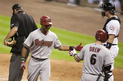 Hill, Young lead Diamondbacks over Astros 12-4