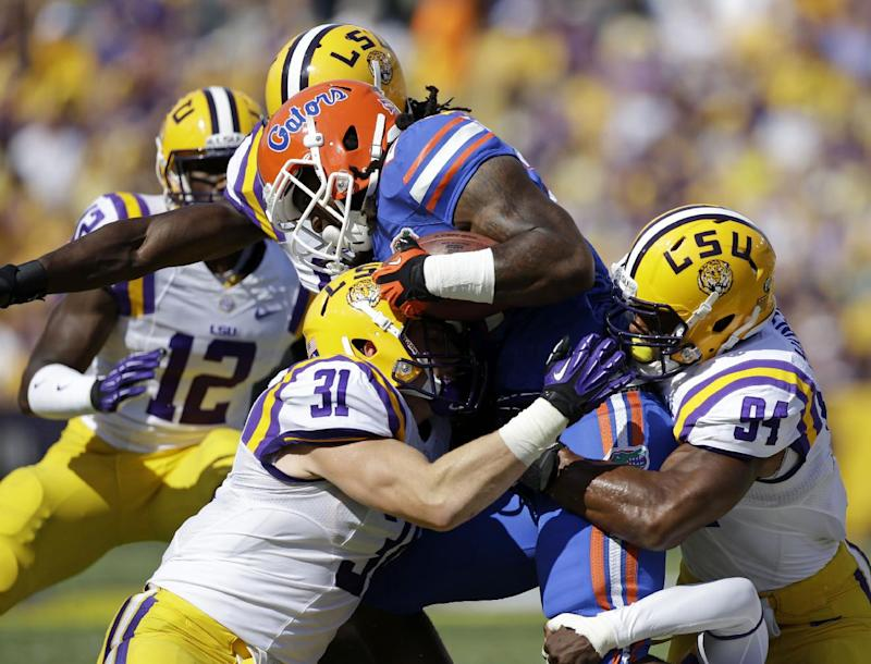 No. 22 Florida loses RB Matt Jones for season