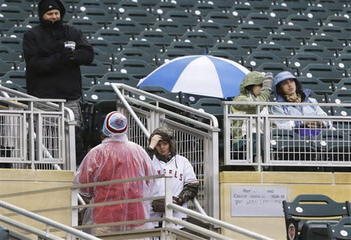 Angels-Twins series finale postponed by rain