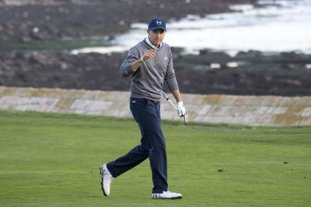 Spieth consolidates lead at Pebble Beach