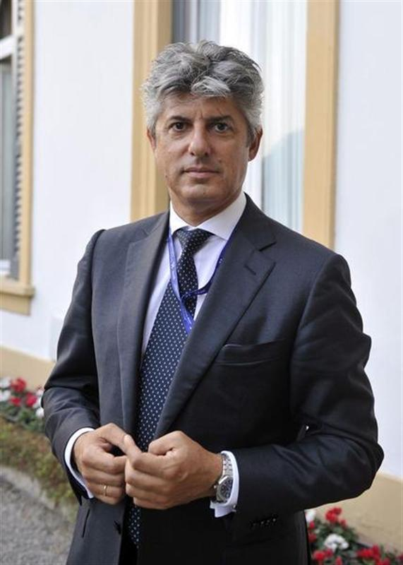 Telecom Italy CEO Patuano is pictured during the Ambrosetti workshop in Cernobbio