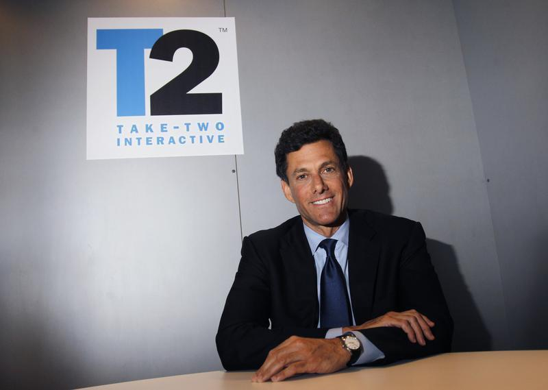 Take-Two Interactive Software Inc. CEO Strauss Zelnick poses for a portrait during the Electronic Entertainment Expo or E3 in Los Angeles