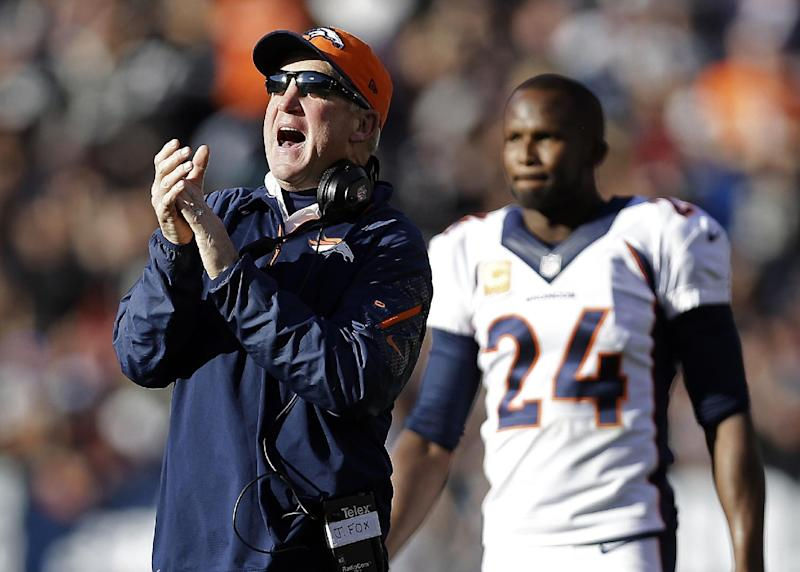 Broncos back a year after playoff pratfall at home
