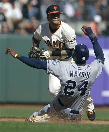Alonso leads Padres past Giants 6-4