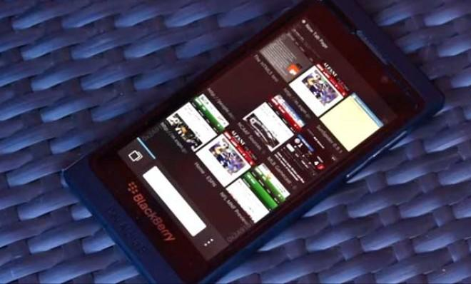 "The BlackBerry 10 operating system isn't about panache, but rather ""cold, mechanical efficiency."""