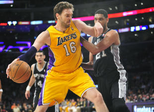 Pau Gasol could be an attractive addition for a contender if he leaves the Lakers. (USA Today)