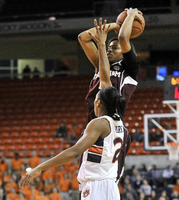 No. 17 Texas A&M coasts to 71-54 win over Auburn