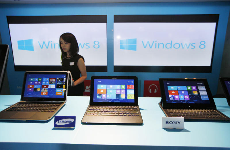 Global PC shipments fall for 6th quarter in row