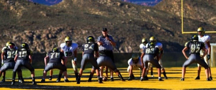 Diamond Ranch's full-field design strip is like a yellow brick road to the end zone — Diamond Ranch Academy