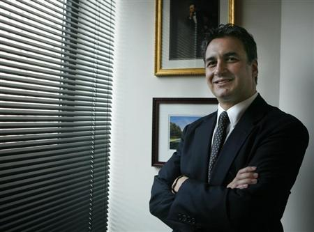 U.S. attorney Michael Garcia poses for a photo in his New York office