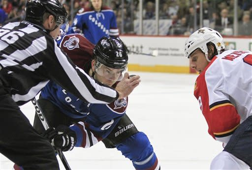 O'Reilly's OT goal lifts Avs over Panthers, 4-3