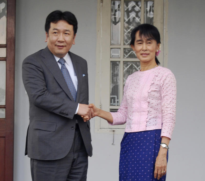 Suu Kyi visit highlights Japan's Myanmar push