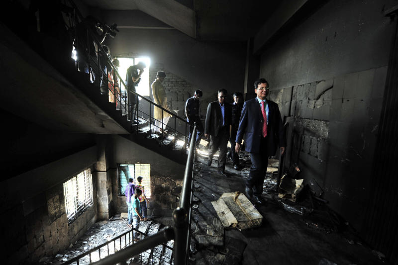 The factory fire: Global commerce, local tragedy