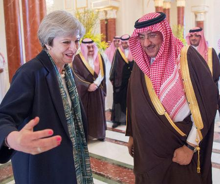 May's Saudi trip highlights tension between trade deals and principles