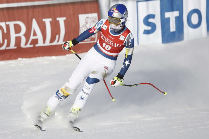 Vonn 'ready for Sochi'; finishes 5th behind Gut