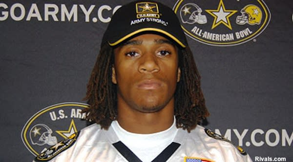 Grant safety Shaq Thompson at his U.S. Army All-American Game jersey ceremony
