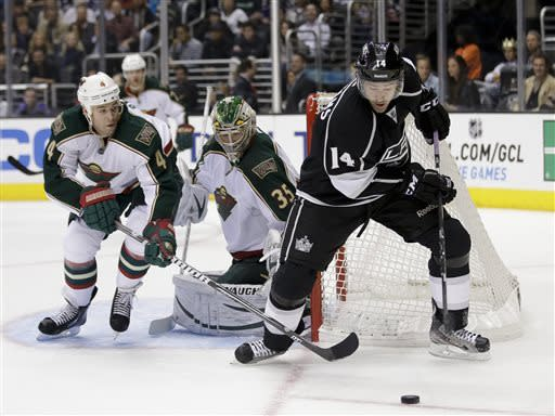 Bernier, Kings beat Wild 3-0