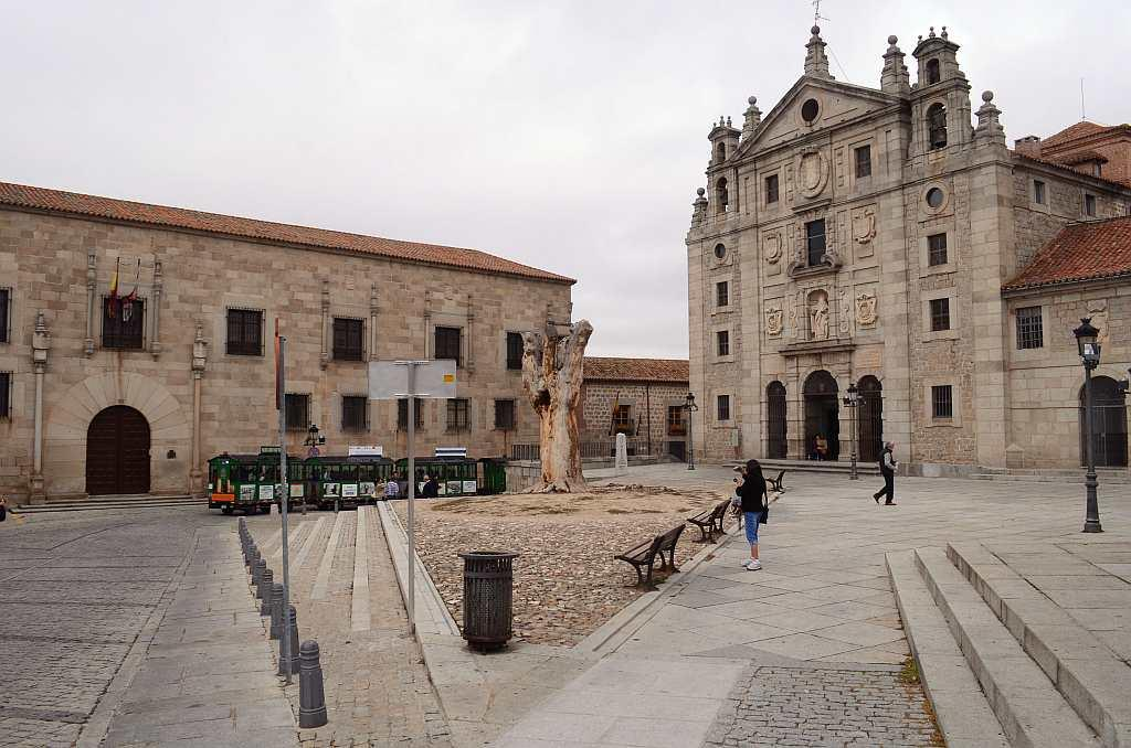 Convent of St Theresa, Avila, Spain  In Avila, a city walled almost on all sides, I walk into a small shrine built on the home of the famous saint, St Theresa.  The 17th century convent, built after her canonisation, is largely closed to the public but opens its doors to tourists who want to visit St Theresa's chapel inside the Baroque church. We see scenes from her life, besides her relics – a finger from her right hand, rosary beads and other personal effects.