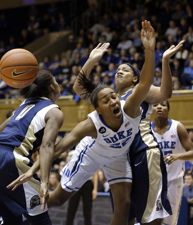 Liston lifts Duke to 111-67 rout of Pittsburgh