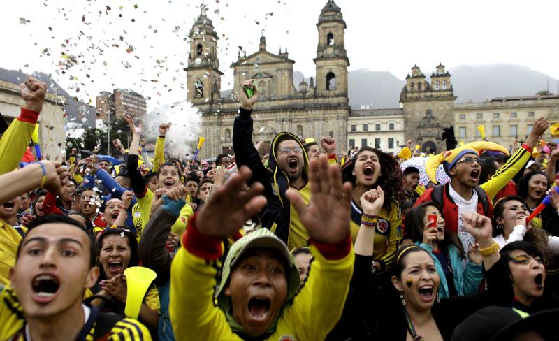 Colombia mayors regulate World Cup merrymaking