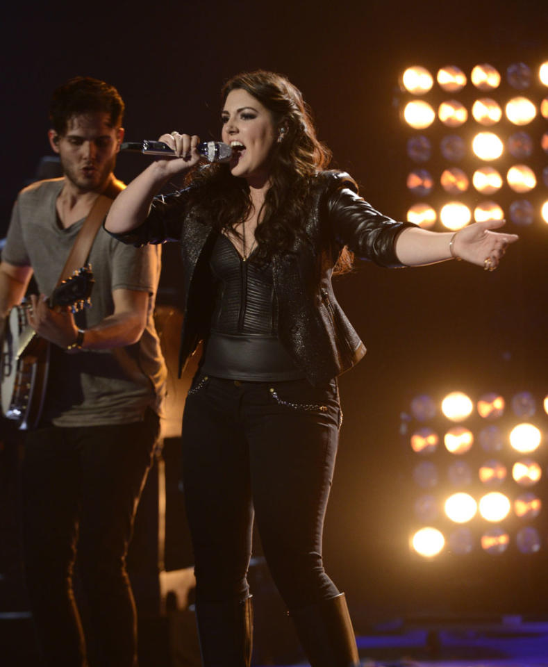 """Kree Harrison performs """"Better Dig Two"""" on the Wednesday, May 8 episode of """"American Idol."""""""