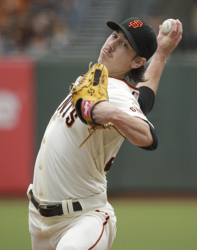 Giants' Lincecum pitches 2nd no-hitter vs Padres