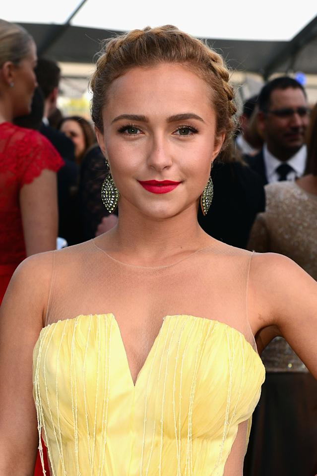 WASHINGTON, DC - APRIL 27:  Actress Hayden Panettiere attends ABC News, Yahoo! News, Univision Pre-White House Correspondents Dinner cocktail reception at Washington Hilton on April 27, 2013 in Washington, DC.  (Photo by Leigh Vogel/Getty Images for Yahoo! News)