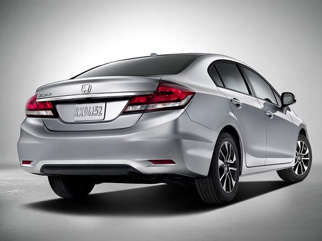 "<p style=""text-align:right;""> <b><a href=""http://ca.autos.yahoo.com/honda/civic-sedan/2013/"" target=""_blank"">2013 Honda Civic Sedan 4dr Auto EX </a></b><br> <b>TOTAL SAVINGS $2,393</b><br> <a href=""http://www.unhaggle.com/yahoo/"" target=""_blank""><img src=""http://www.unhaggle.com/static/uploads/logo.png""></a> <a href=""http://www.unhaggle.com/dealer-cost/report/form/?year=2013&make=Honda&model=Civic%20Sedan&style_id=356220&pid=58"" target=""_blank""><img src=""http://www.unhaggle.com/static/uploads/getthisdeal.png""></a><br> </p>  <div style=""text-align:right;""> <br><b>Manufacturer Suggested Retail Price</b>: <b>$21,445</b> <br><br><a href=""http://www.unhaggle.com/Honda-Canada/"" target=""_blank"">Honda Canada</a> Incentive*: $1,500 <br>Unhaggle Savings: $893 <br><b>Total Savings: $2,393</b> <br><br>Mandatory Fees (Freight, Govt. Fees): $1,630 <br><b>Total Before Tax: $20,682</b> <br><br>... or 1.99% financing for 84 months in lieu of incentive </div> <br> <p style=""text-align:right;font-size:85%;color:#777;""><em>Published August 9, 2013</em></p> <br><p style=""font-size:85%;color:#777;""> * Manufacturer incentive displayed is for cash purchases and may differ if leasing or financing. For more information on purchasing any of these vehicles or others, please visit <a href=""http://www.unhaggle.com"" target=""_blank"">Unhaggle.com</a>. While data is accurate at time of publication, pricing and incentives may be updated or discontinued by individual dealers or manufacturers at any time. Typically, manufacturer incentives expire at the end of every month. Vehicle availability is also subject to change based on market conditions. Unhaggle Savings is a proprietary estimate of expected discount in addition to manufacturer incentive based on actual savings by Unhaggle customers. </p>"