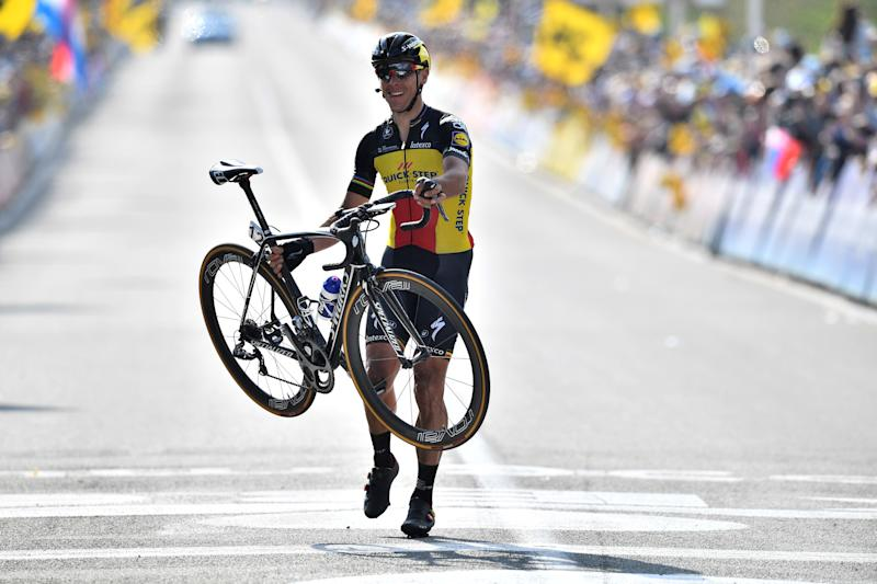 Philippe Gilbert finally wins Tour of Flanders