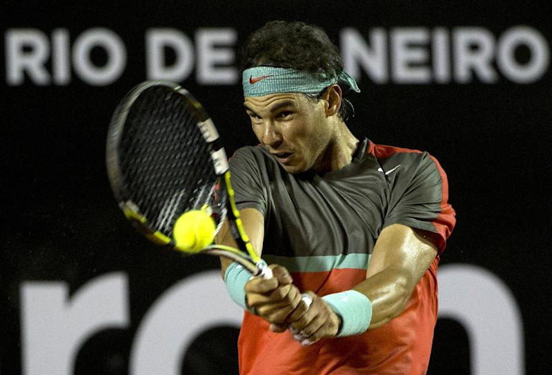 Nadal into quarterfinals in Rio - no back problems