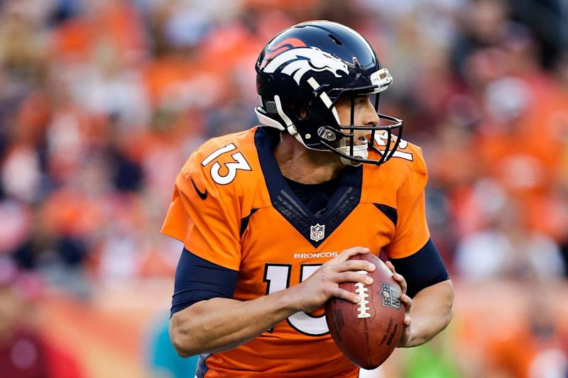 Gary Kubiak excited about progress Paxton Lynch has made