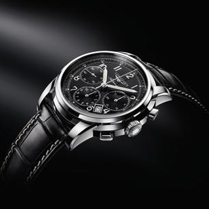 Longines St. Imier Chronograph - An homage to the pilot's timepieces the brand is famous for, this chronograph boasts a steel and rose gold case and an exclusive ETA column-wheel movement