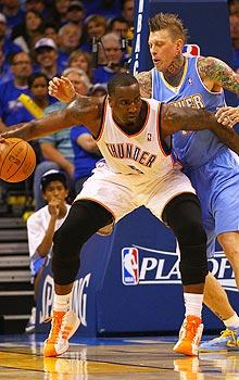 Game 1 loss to OKC has Nuggets crying foul