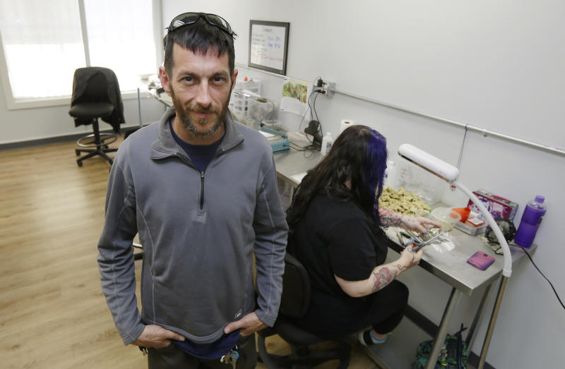 In Seattle, delivering legal pot illegally