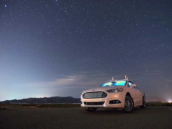 Ford to start testing autonomous cars on European roads