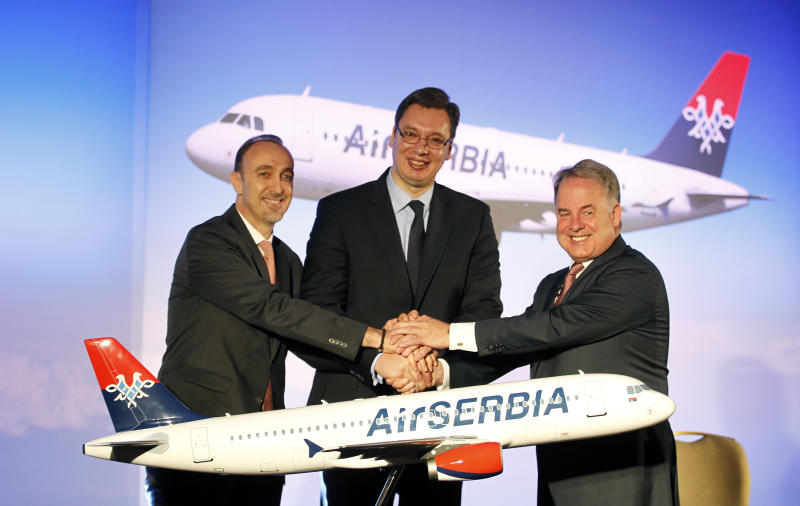Etihad signs partnership deal with Serbia