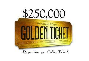Barona Has 53 Golden Tickets That Could Change Your Life