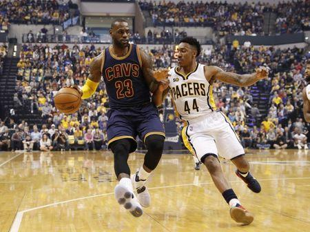 LeBron and Cavaliers sweep away Pacers