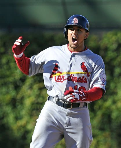 Jay's RBI double in 10th lifts Cardinals over Cubs