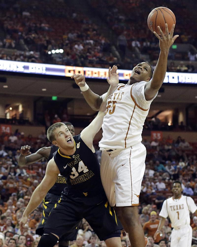 Felix leads No. 19 Texas over West Virginia, 88-71